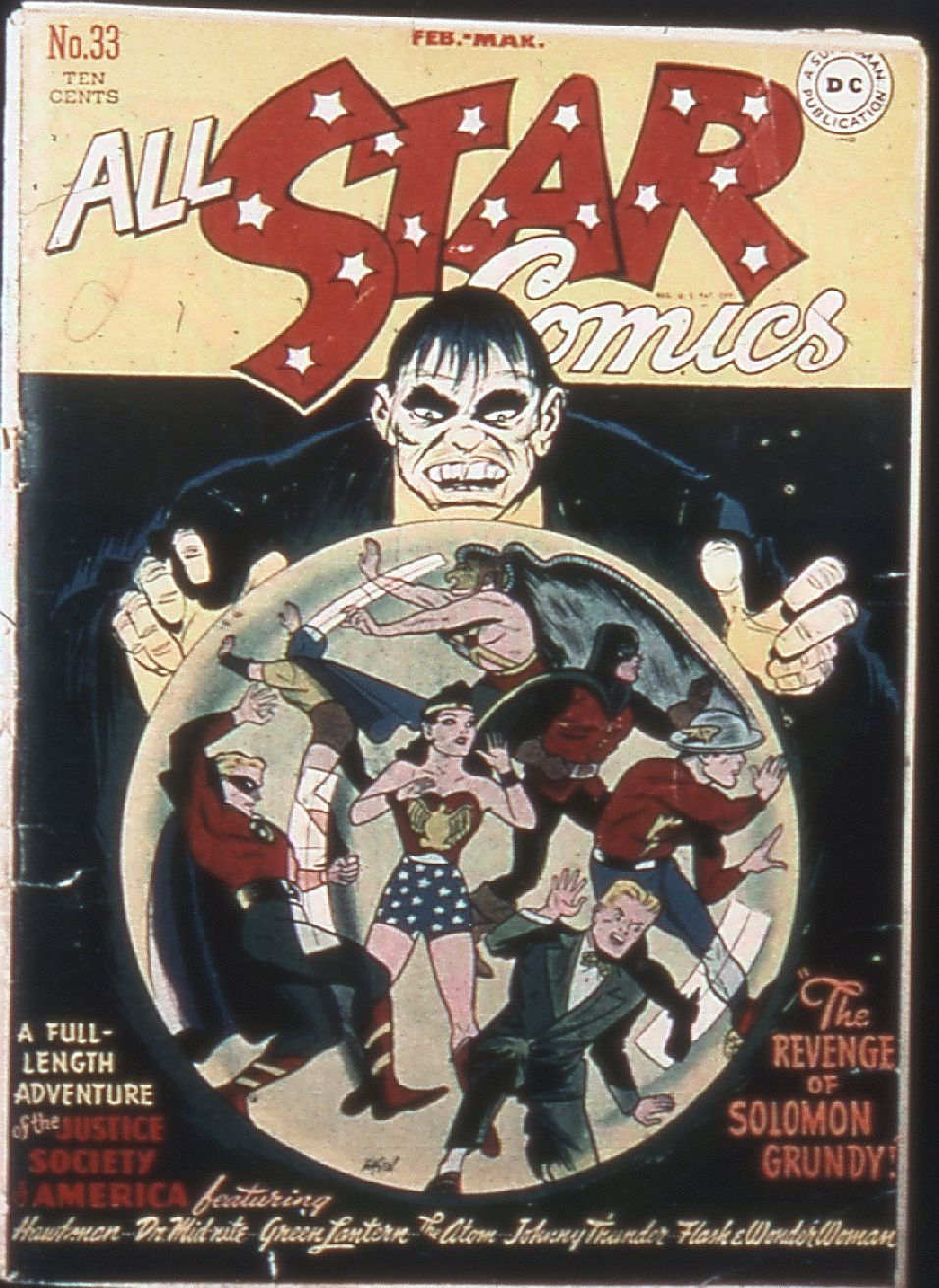 Read online All-Star Comics comic -  Issue #33 - 1