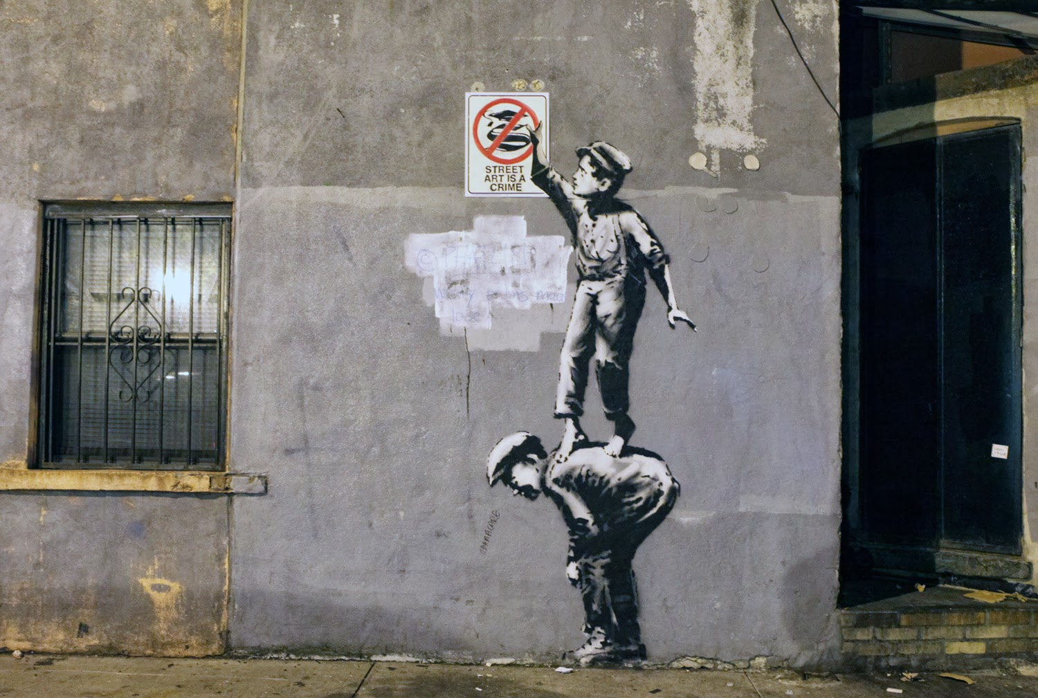 Bye Bye Banksy A Ny Welcome Updated Campus Mercante