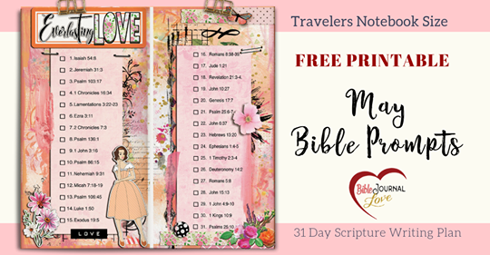 Robin Sampson Bible Journal  Love