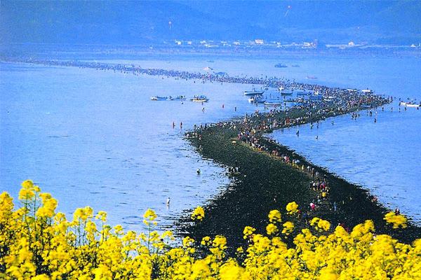A természet ritka csodája – A szétnyíló tenger (Jindo szigete)