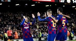 برشلونة يحقق فوز ساحق على فريق ليغانيس ويتاهل لربع نهائي كأس ملك إسبانيا