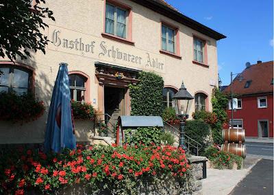 Deftige fränkische Küche im Gasthof Schwarzer Adler © Copyright Monika Fuchs, TravelWorldOnline
