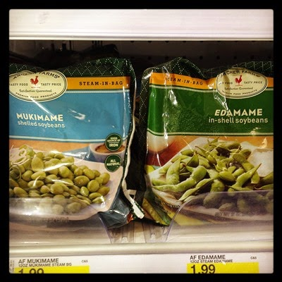 Vegan Vegetarian Food Groceries Target Organic Frozen Mukimame and Edamame Soybeans