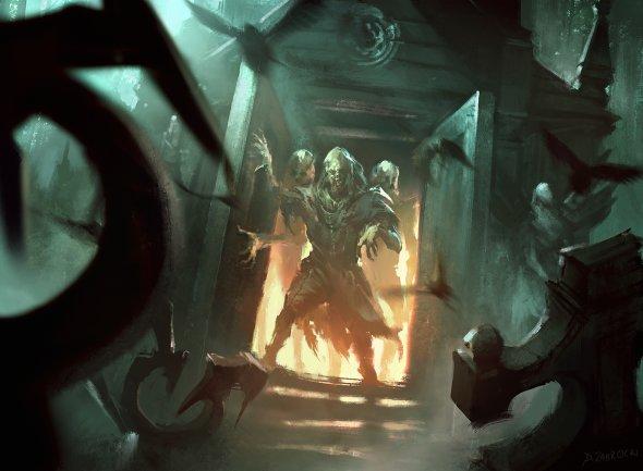 Darek Zabrocki daroz deviantart ilustrações fantasia ficção científica games
