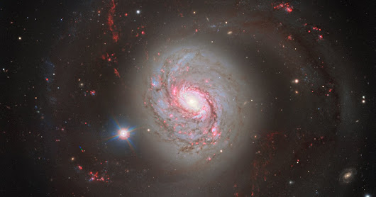 Magnificent View of Spiral Galaxy Messier 77