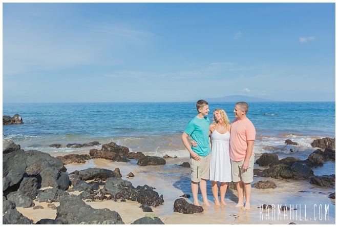Wailea Family Portrait