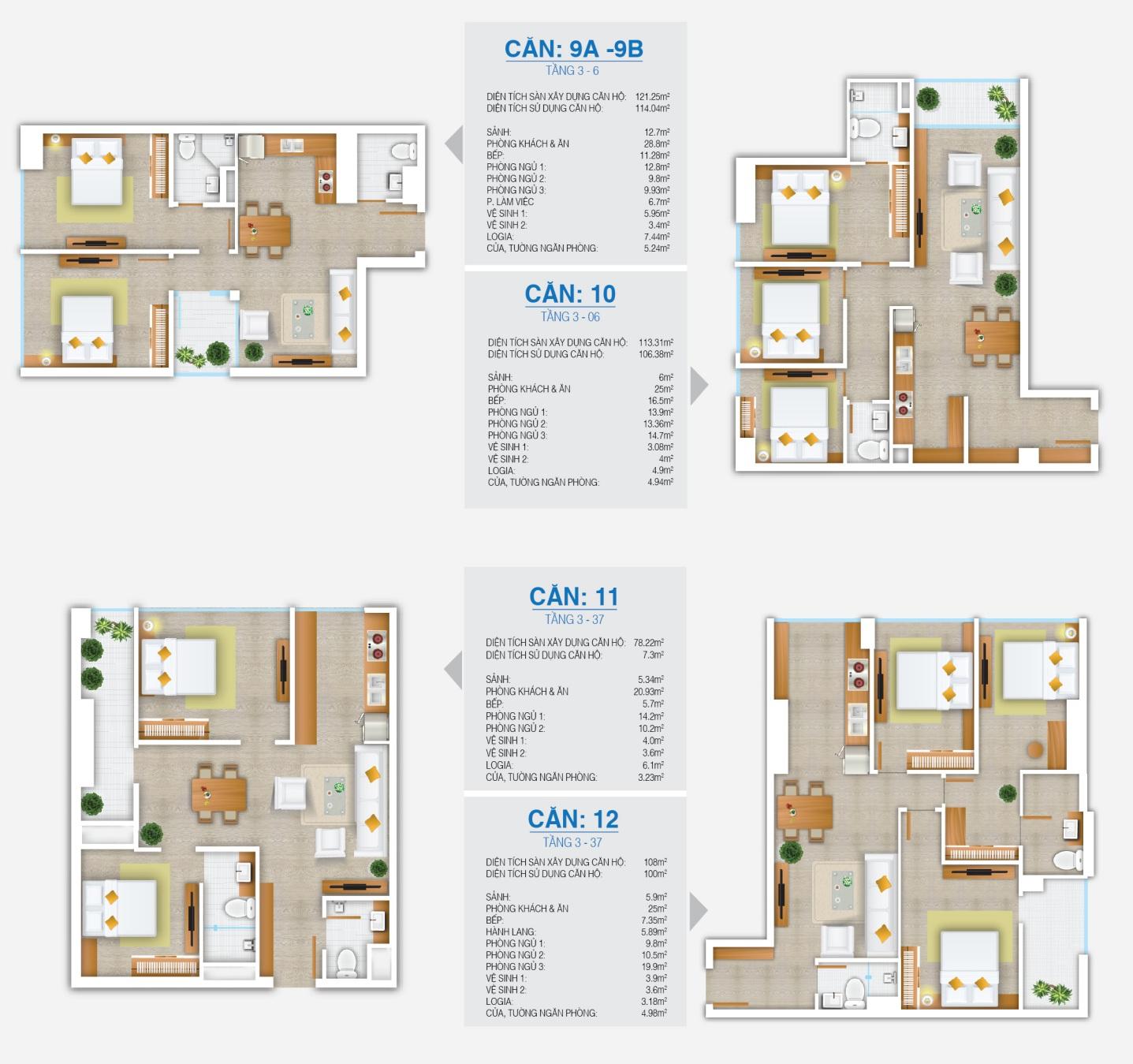 10 kiểu thiết kế diện tích căn hộ FLC Star Tower (2)