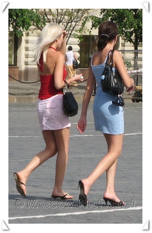 Moscow Girls Summer Street Look