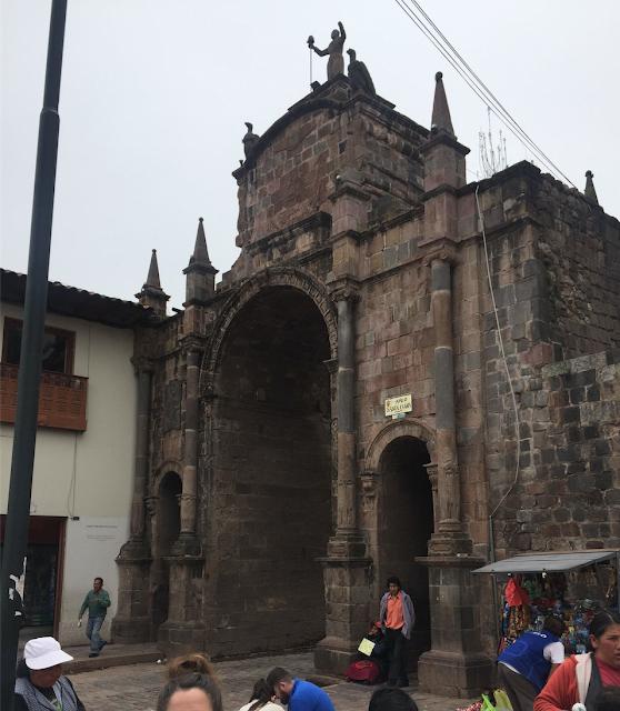 Arco de Santa Clara Cuzco