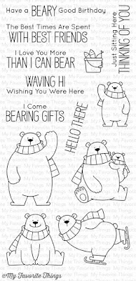 My Favorite Things - BB Polar Bear Pals Stamp Set