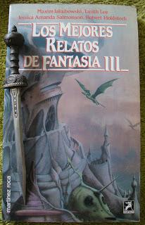 Portada del libro Los mejores relatos de fantasía III, de varios autores