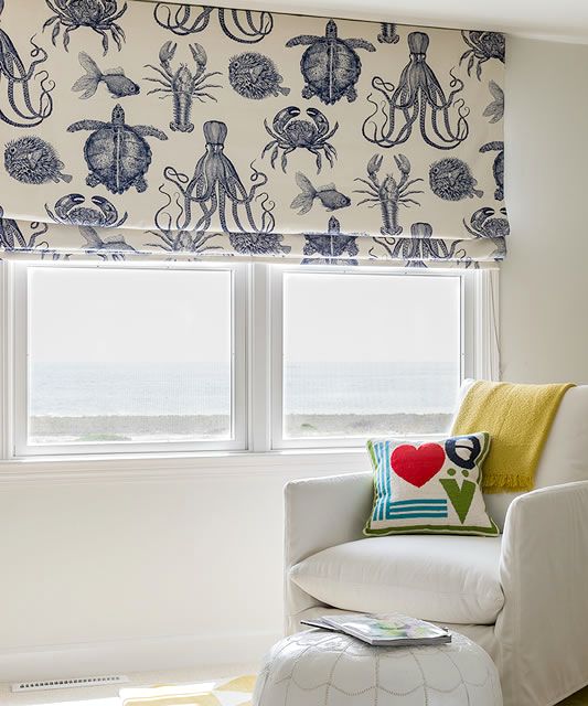 Make Nautical And Coastal Roman Shades Coastal Decor