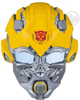 Hasbro Transformers Bumblebee Movie Voice Changer Mask Assortment Bumblebee