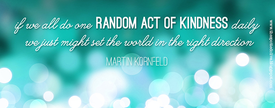 One Random Act Of Kindness At A Time Quote: The Life And Designs Of The Spotted Olive™: {spread