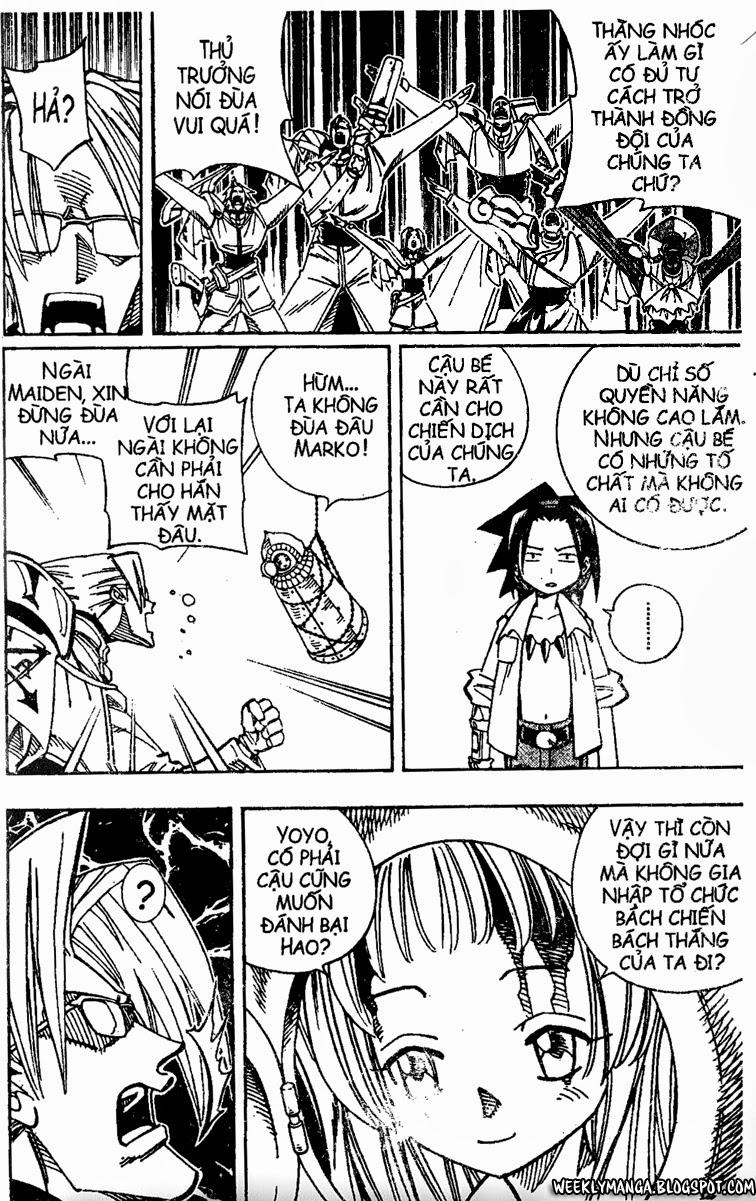 Shaman King [Vua pháp thuật] chap 136 trang 21