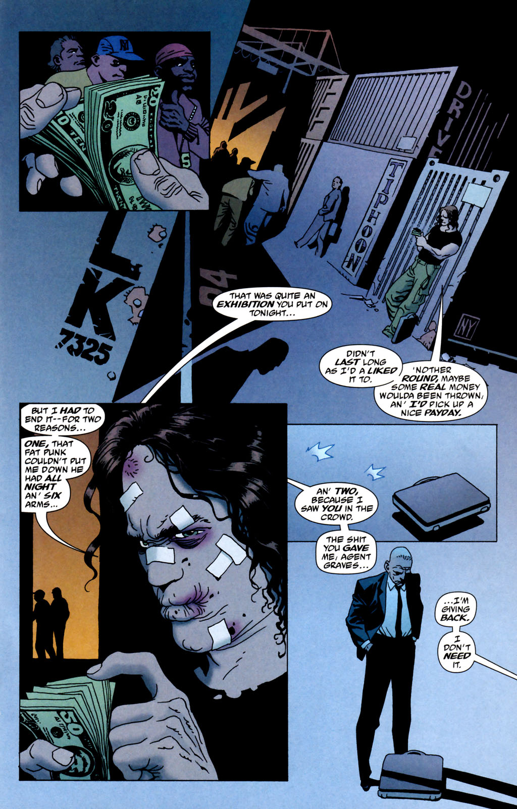 Read online 100 Bullets comic -  Issue #64 - 7