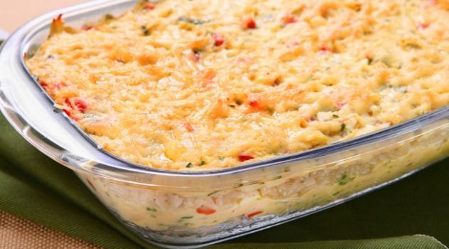 arroz al horno colorido