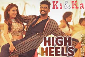 High Heels - Ki And Ka - Arjun Kapoor & Kareena Kapoor