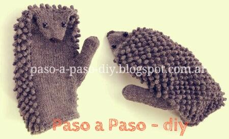 Cómo tejer guantes al crochet