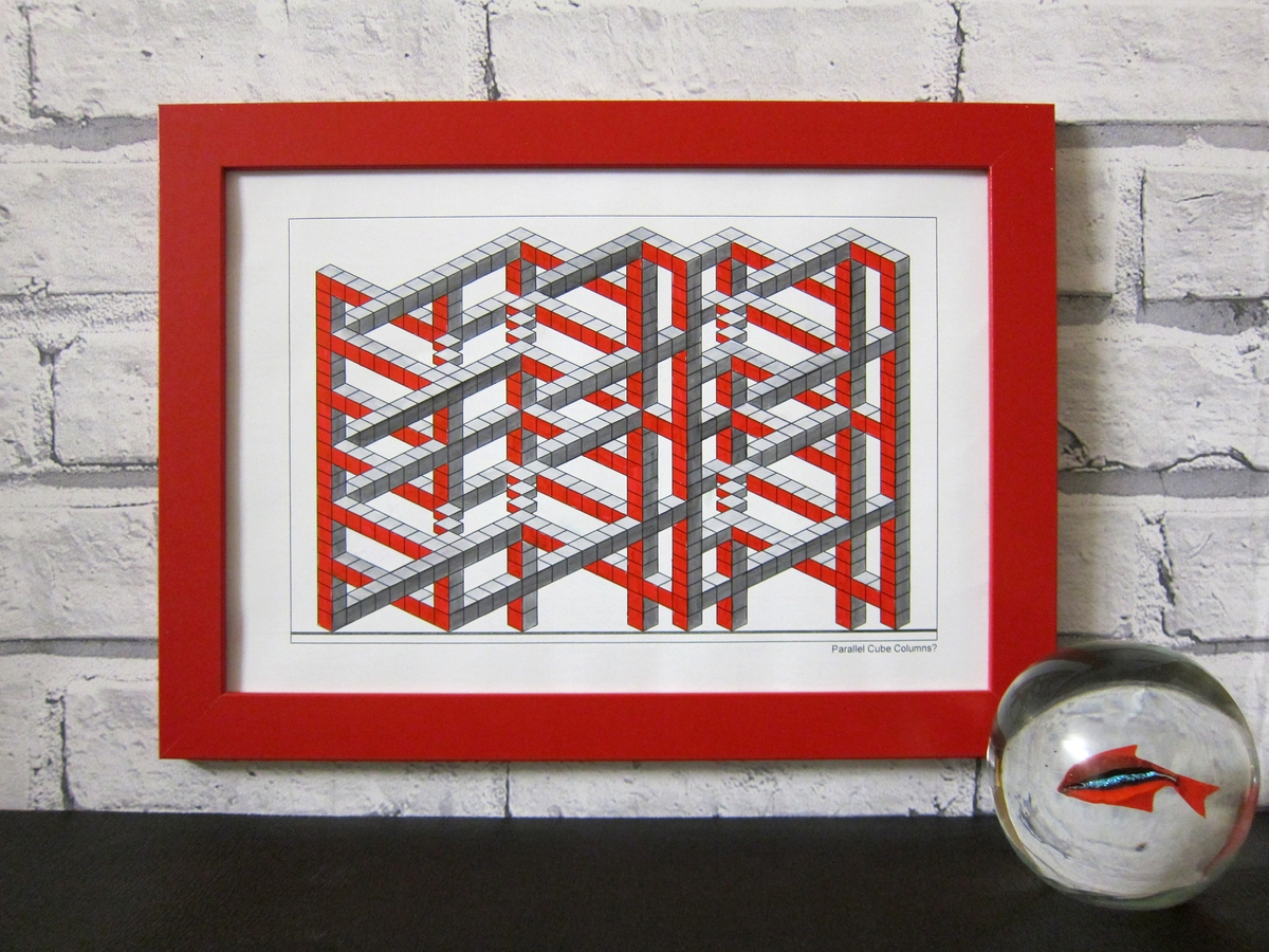 10-Framed-Drawing-Designstack-Optical-Illusions-and-Impossible-3D-Coloring-Collection-www-designstack-co