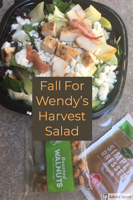 Wendy's Harvest Salad Review