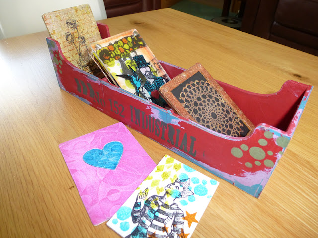 Lesleys distressed box