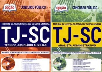 Apostila Concurso TJ-SC 2018