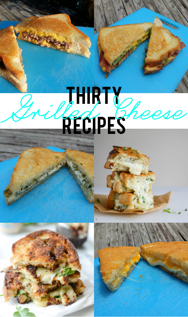 Sweet Turtle Soup: April is Grilled Cheese Month! - Thirty Grilled Cheese Recipes To Try