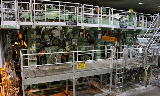 Paperchine MH Shoe Press New in 2008