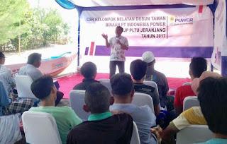 CSR PT Indonesia Power UJP PLTU Jeranjang Sasar Kelompok Nelayan