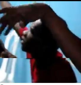 Haitiano golpea una joven