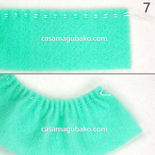 Running Stitches - Gathering by casamagubako.com