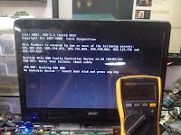 Cara memperbaiki laptop acer aspire e1-431 hanya tampil di lcd monitor