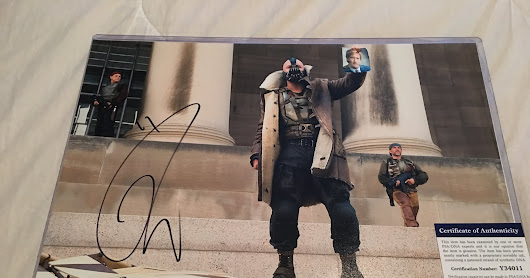 TOM HARDY - Purchased Autograph