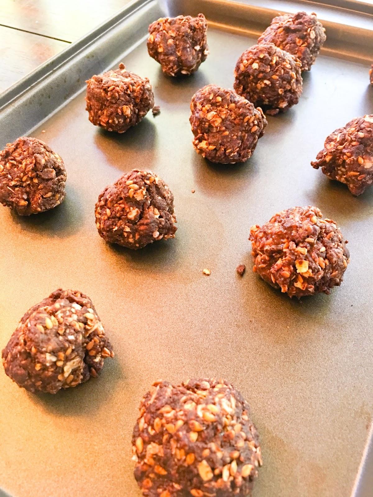 No Bake Chocolate Shakeology Bites ? (Gluten Free ...