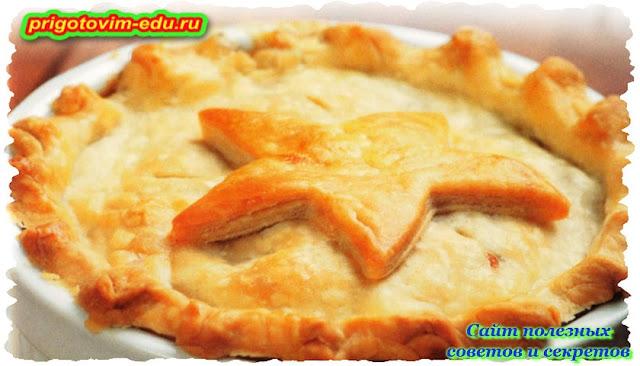 Рецепт куриного пирога в духовке