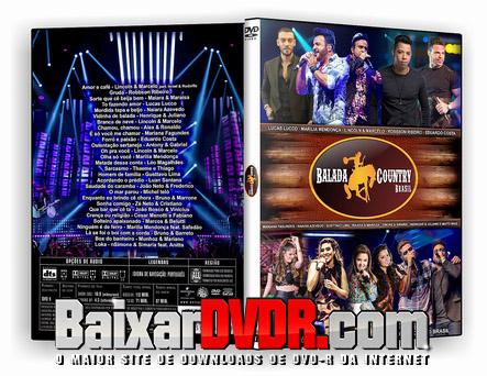 BALADA COWNTRY (2017) DVD-R