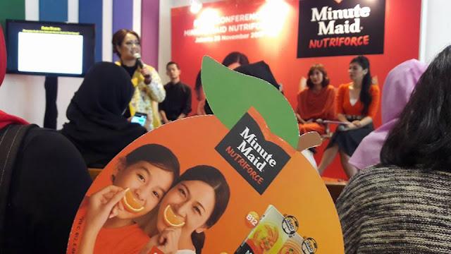 Minute Maid Nutriforce, Bantu Penuhi Kecukupan Nutrisi Harian Anak Usia Sekolah Dengan Cara Yang Menyenangkan
