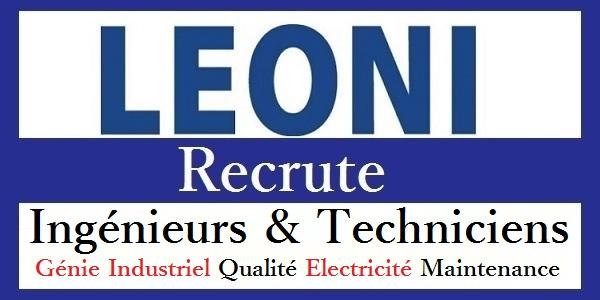 LEONI Recrute Ingénieurs et Techniciens