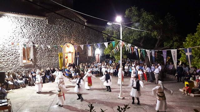 """Η  """"Ελληνική Παράδοση"""" στη Φρουσιούνα Αργολίδας στην γιορτή του Αη-Γιάννη"""
