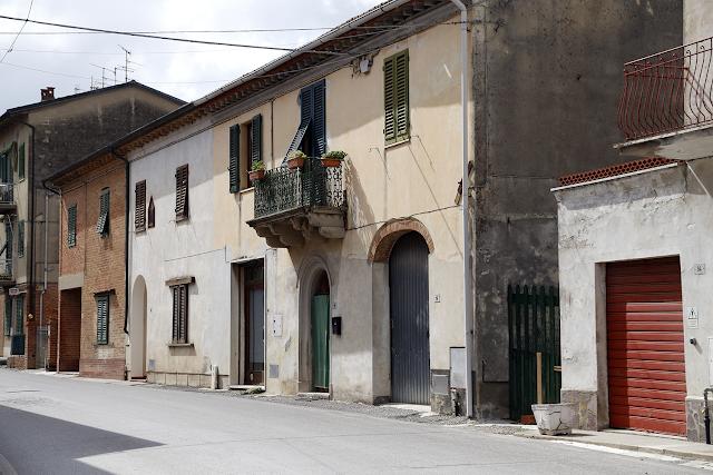 Streets of San Miniato, Tuscany Italy