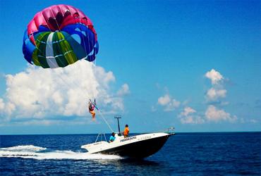Bali Water Sports Tour | Parasailing | Sunia Bali Tour