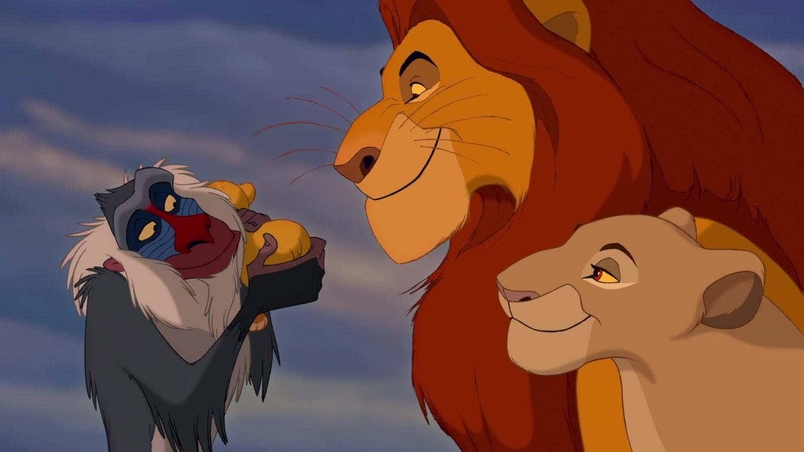 Immagini re leone walt disney