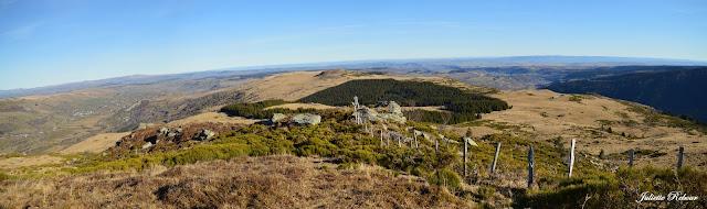 Paysage du Parc Naturel Régional des volcans d'Auvergne