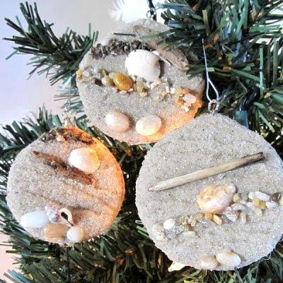 round sand ornaments