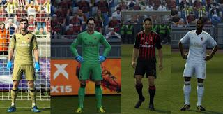 AC Milan Kits 2016-2017 Pes 2013