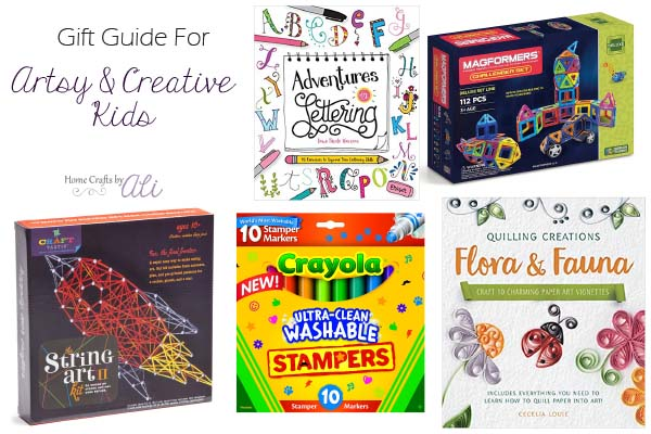 Gift Guide For Artsy And Creative Kids Home Crafts By Ali