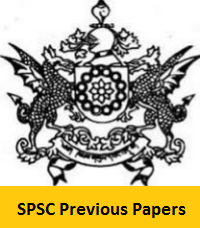 SPSC Previous Papers