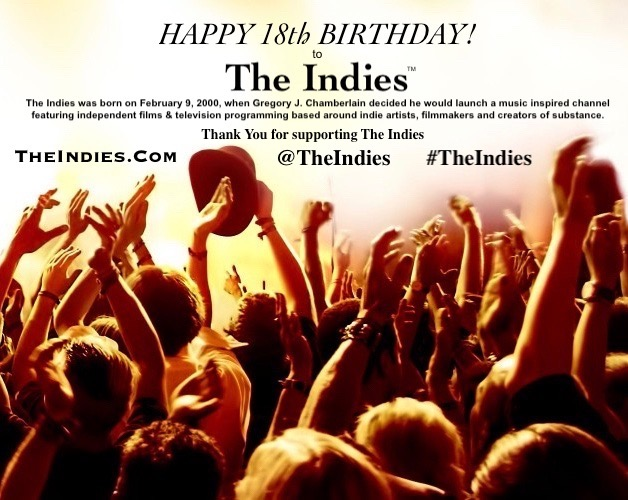 TheIndies.Com Turned 18 years old today. TheIndies was founded on February 9, 2000