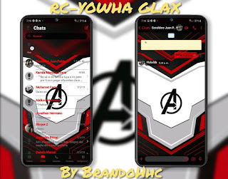 Avengers Theme For Fouad WhatsApp & YOWhatsApp